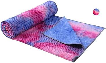 Yoga Mat Handdoekhoes Vouwen Zacht Zweetabsorberend Sneldrogend Antislip Draagbaar Yoga Pilates Pad Deken Fitnessmat 183 *...