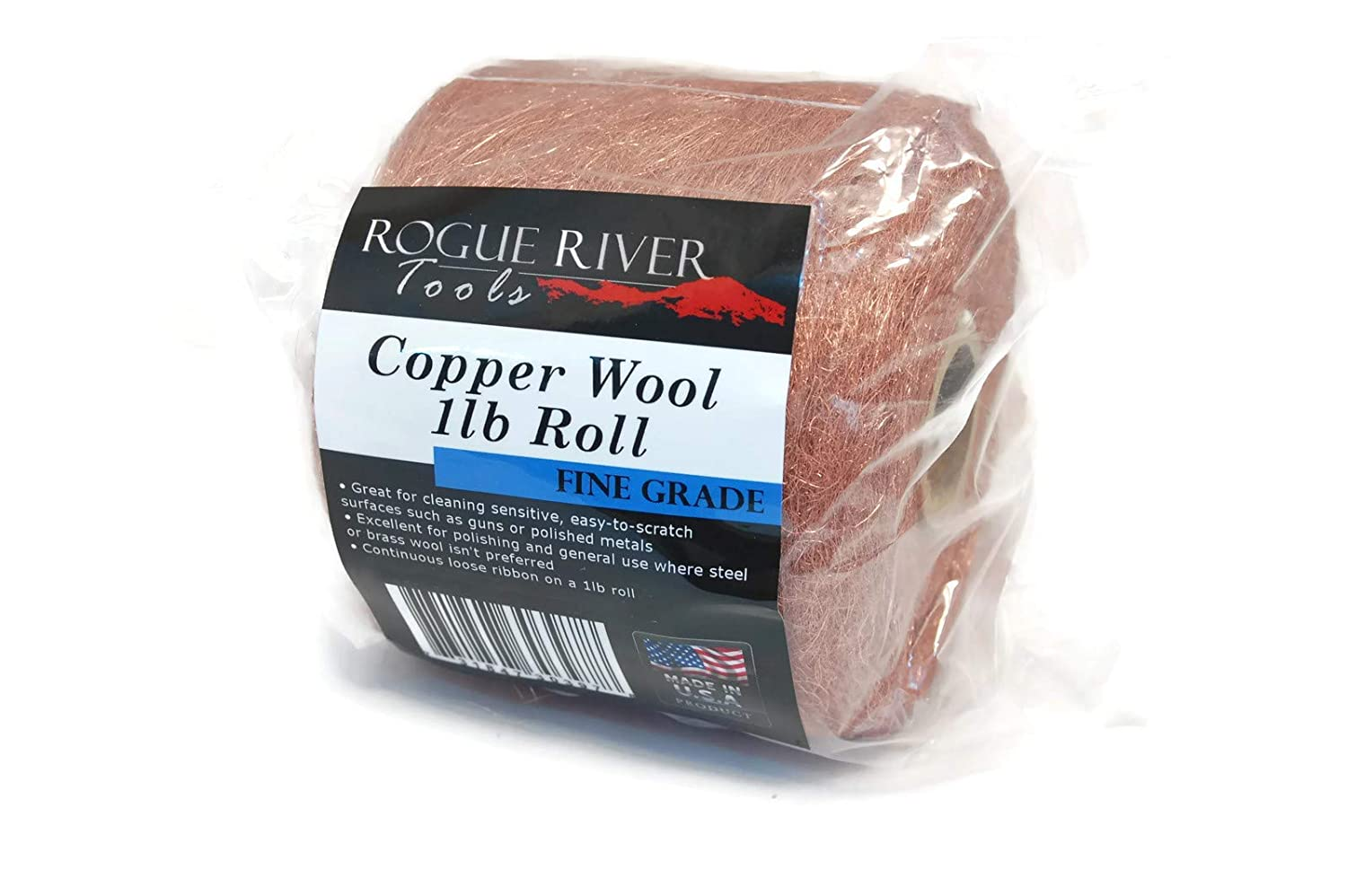 Copper Wool 1lb Discount mail order Great interest Roll Fine - Tools River Rogue
