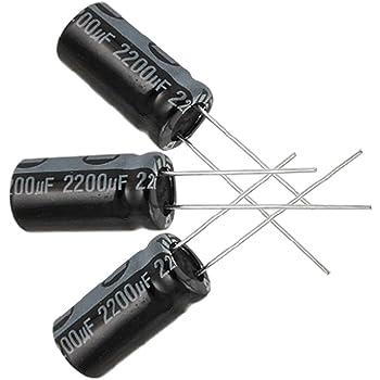 40//+105°C Radiale Condensatore Elettrolitico 2200uF 16V