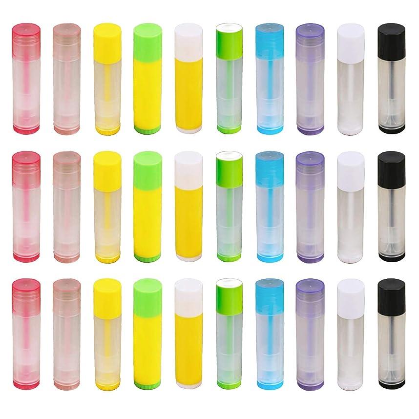 動的パンチこしょうフェリモア リップクリーム チューブ 容器 ボトル 詰め替え用 ホームメイド用 100個セット