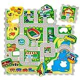 Hakuna Matte Puzzlematte für Babys City – TÜV SÜD GS Zertifiziert –...
