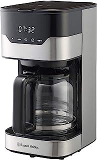 ラッセルホブス コーヒーメーカー グランドリップ 10杯 ペーパーフィルター不要 タイマー 7651JP