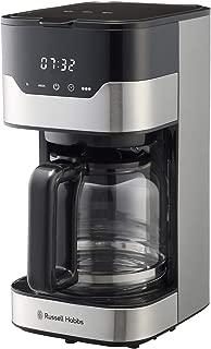 ラッセルホブス コーヒーメーカー グランドリップ 10カップ ゴールドフィルター タッチパネル式 7651JP