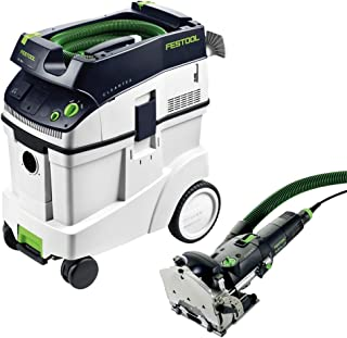 Festool DF 500 Q Domino Set with T-LOC + CT 48 Dust Extractor Package