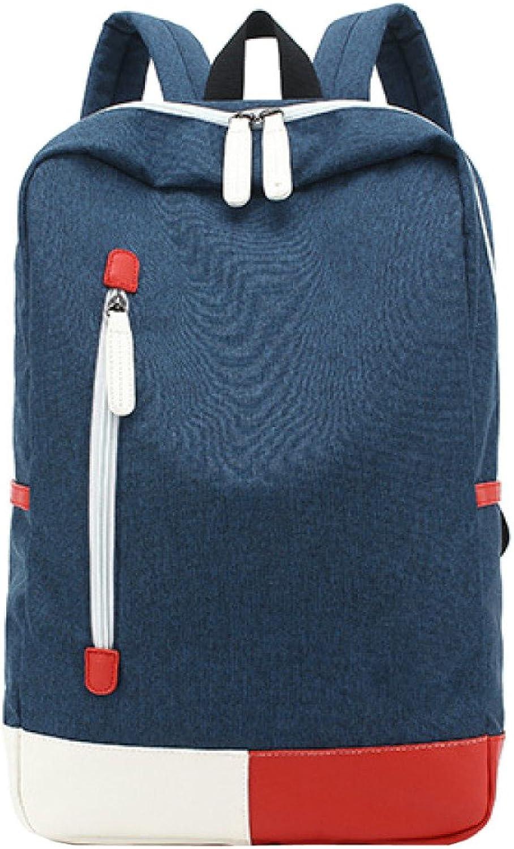 WU ZHI Unisex Ruckscke Leinwand Durable College School Bags Reise Umhngetasche Rucksack Casual Daypacks Wandern Camping Outdoor