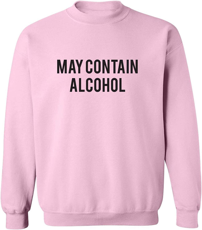 May Contain Alcohol Crewneck Sweatshirt