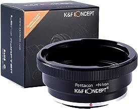 K&F Concept Pentacon 6 Kiev 60 Lens to Nikon AI F Mount Adapter D90 D300 D700 D7100 D7000