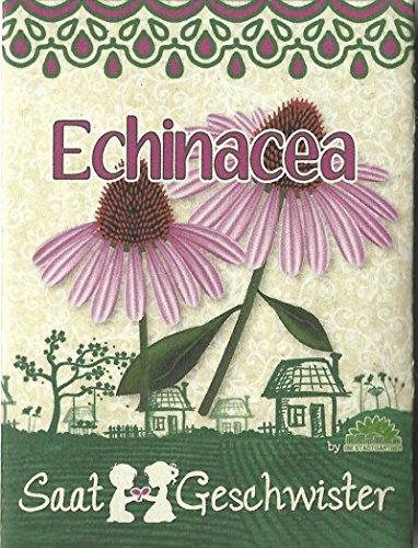 Die Stadtgärtner Sonnenhut/Echinacea-Saatgut | Heilpflanze und Blickfang | Samen für 80 Pflanzen