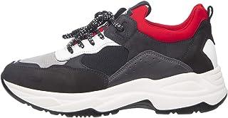 NeroGiardini A901271U Sneaker Hombre De Piel Y Tejido Técnico
