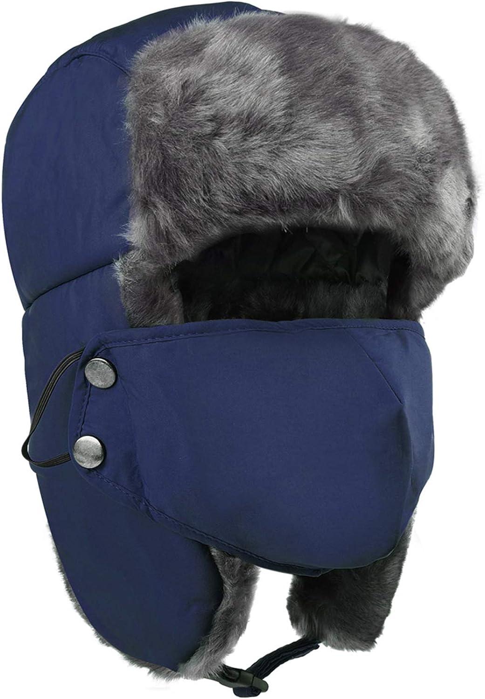 Maylisacc Winter Warm Trooper Trapper Ear Flap Hat,Hunting Ski Hat for Men Women