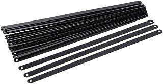 Silverline 456789 - Hojas de Acero al Carbono para Sierra de Arco, 24 pzas 300 mm 24 DPP