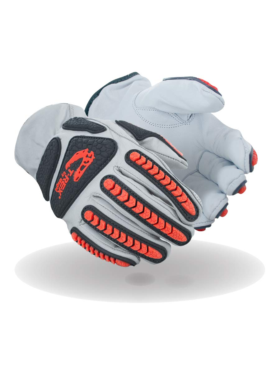 Magid It is very popular Glove Safety T-REX Lowest price challenge Rebel Series TRX818 Premium Goatskin