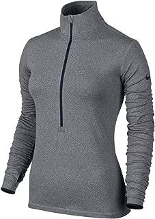 NIKE Women's Dri-Fit Pro Hyperwarm Half Zip Training Shirt