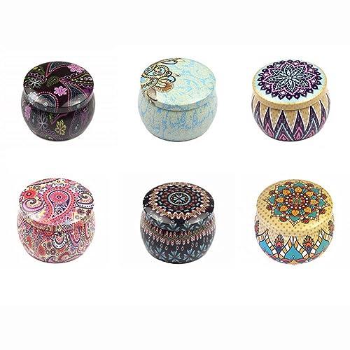 Decorative Candle Tins: Amazon.com