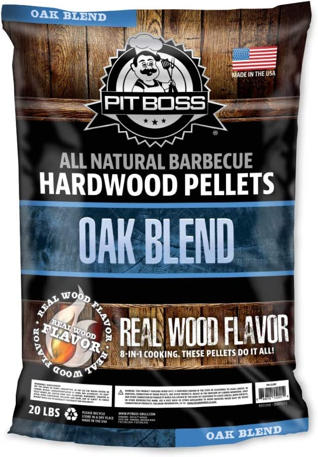 PIT BOSS In a popularity 55241 20lb Oak Blend Brown Wood Limited time cheap sale Pellets
