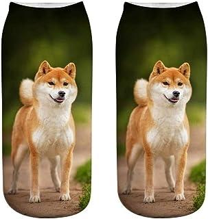 【ディアーアニマルズ】柴犬 しば犬 靴下 犬柄くつした ソックス レディース