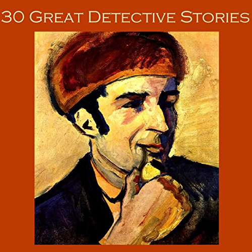 Thirty Great Detective Stories audiobook cover art