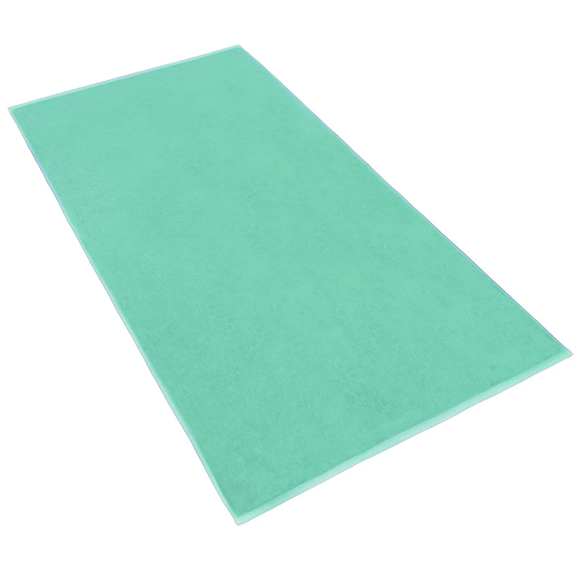 要件十億逸脱(1) - Terry Bath Sheet/Beach Blanket Colour: Sea Foam