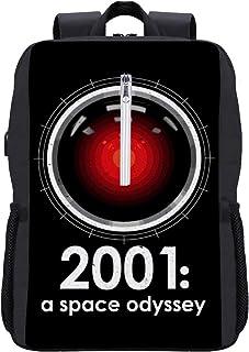 2001 A Space Odyssey Inspirado HAL 9000 Mochila para portátil con puerto de carga USB