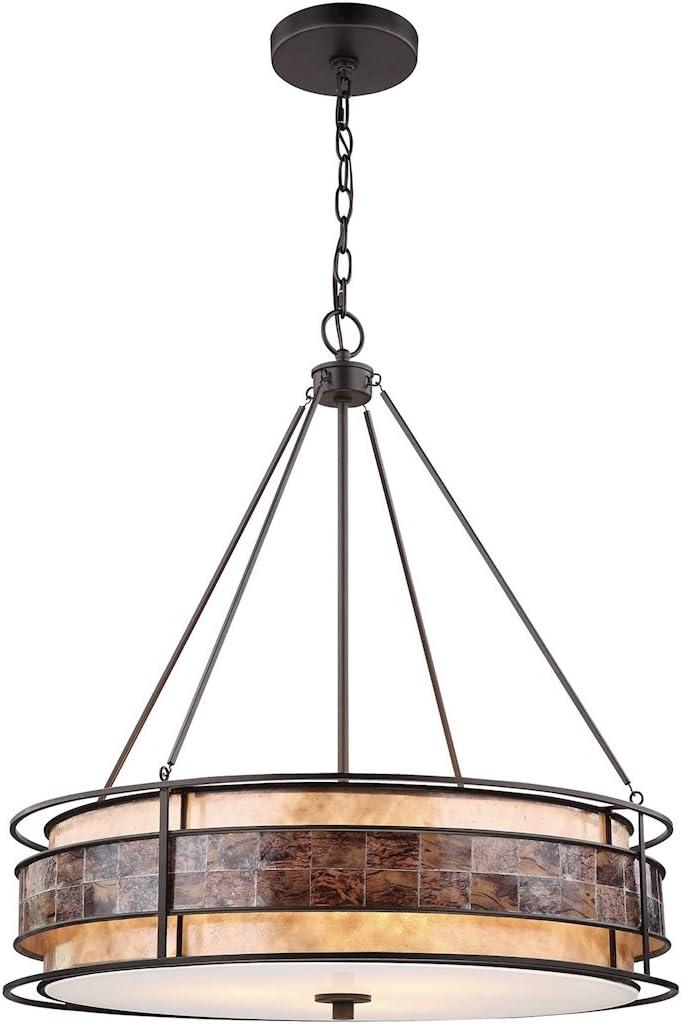 Mesa Mall ELK Lighting 70264 3 Size Chandelier One Low price Bronze