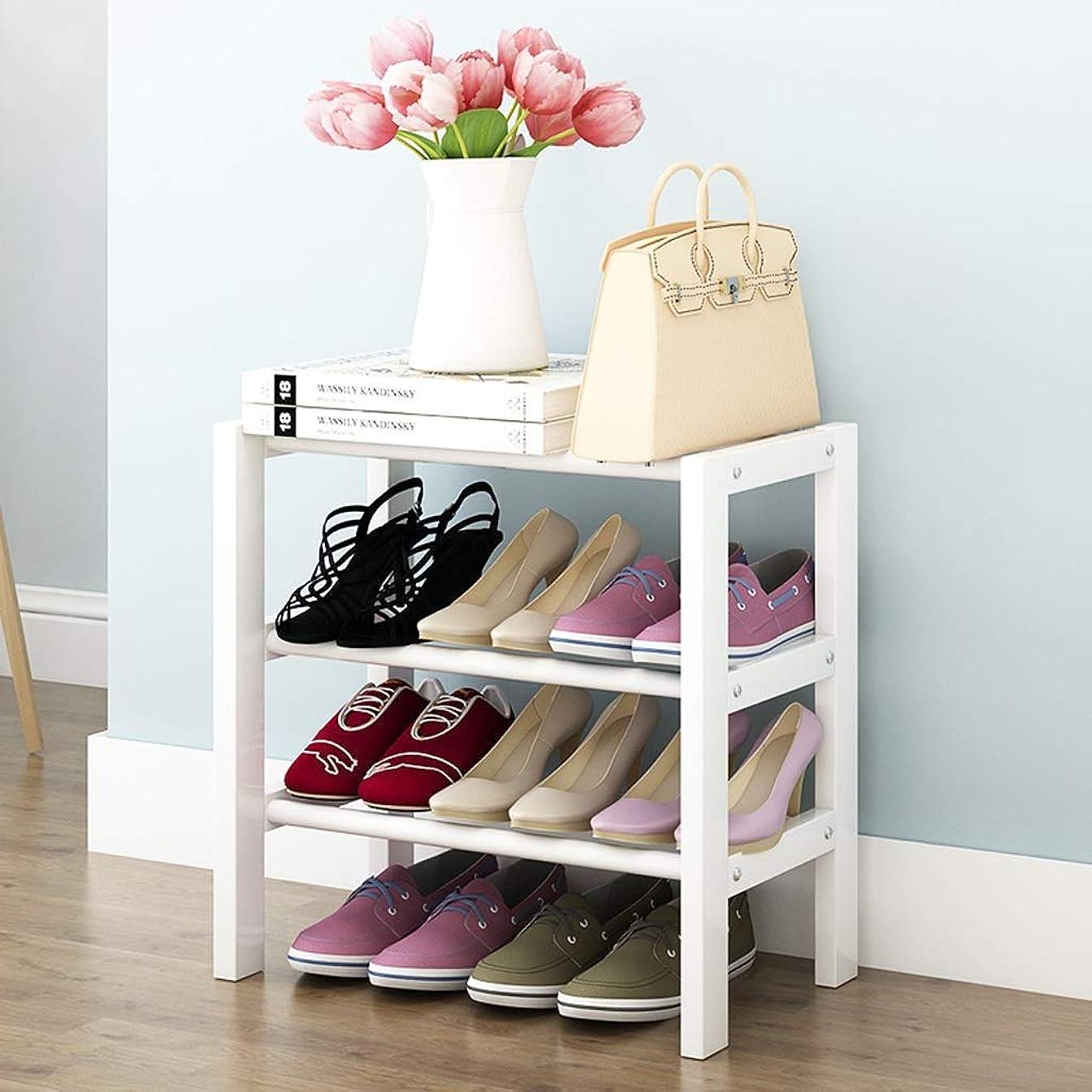 準拠マイクロプロセッサ実験LWBUKK シンプルな靴箱小さな木製の多層アセンブリ取り外し可能な靴のキャビネット家庭用経済的な収納 靴箱