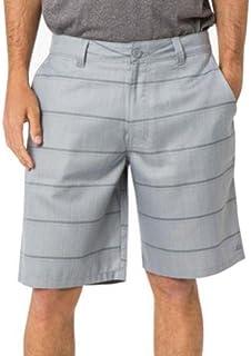 سروال قصير منقوش للرجال من O'Neill (32، مخطط رمادي (flynn))