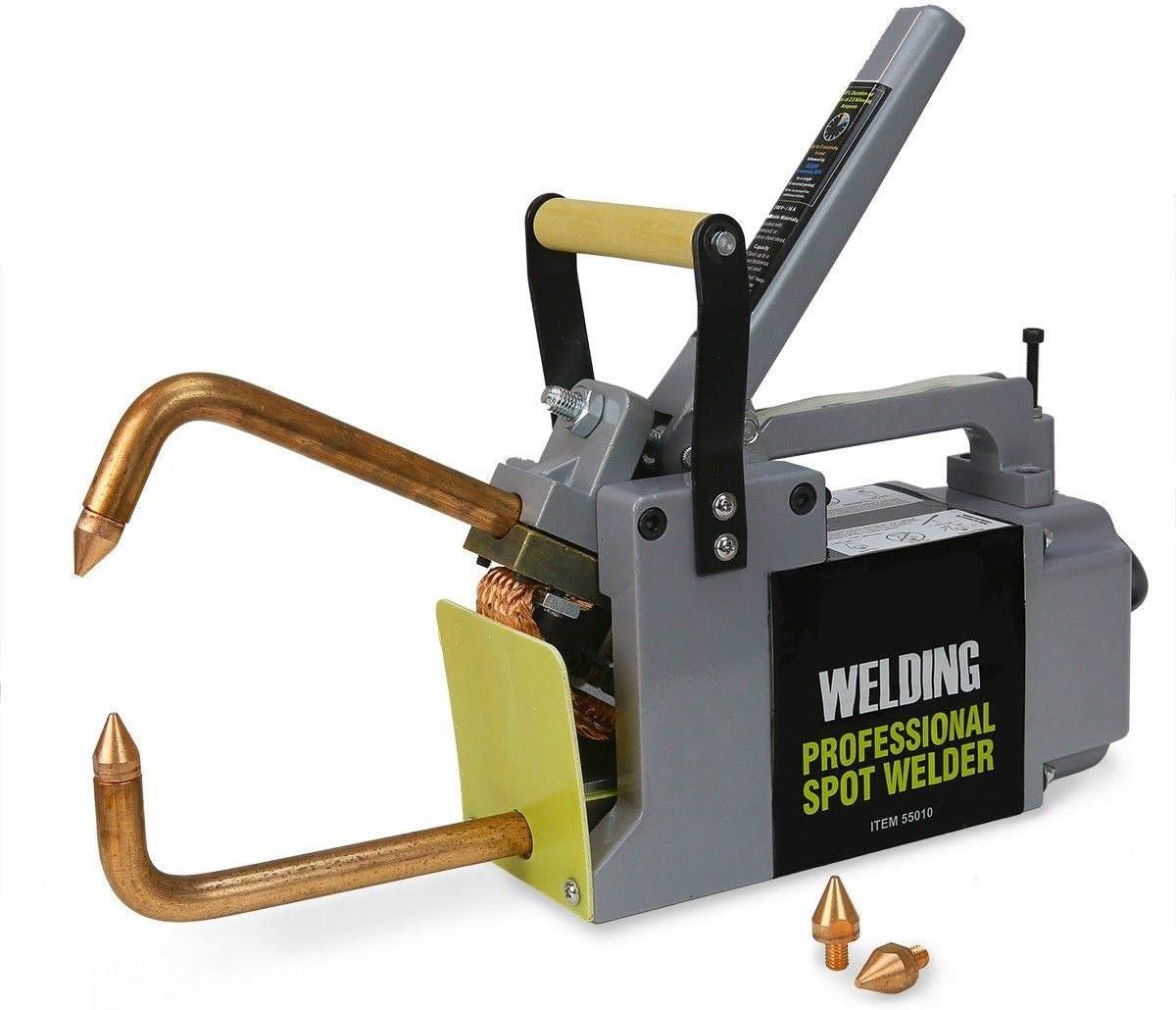 Stark Professional Portable Electric 240 Volt Spot Welder Machine Welding Systems Diy Welding Tips With Handle Amazon Com