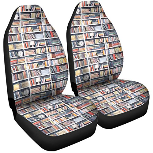 Gnarly Tees Library Nook Car Seat Covers