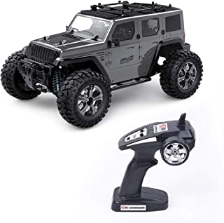 Jeep Rc Cars Off Road 4wd - Roterdon Rc Truck 1/14 Remote Control Car Cross-Country Monster Crawler Kids 35KM/H High Speed...