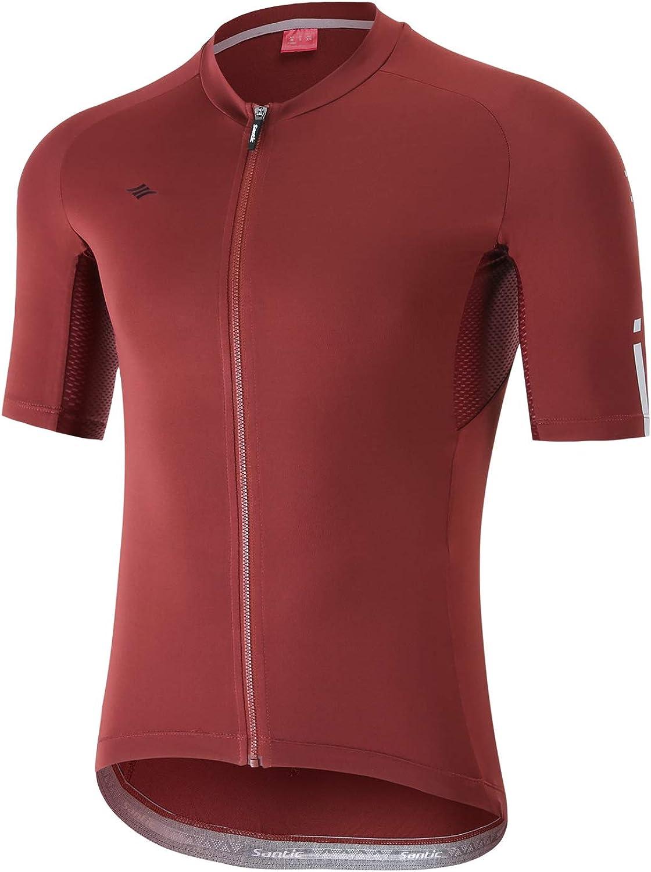 Santic Cycling Jerseys Men's Short Sleeve Full Zip B Sales for sale Bike Nippon regular agency Shirts