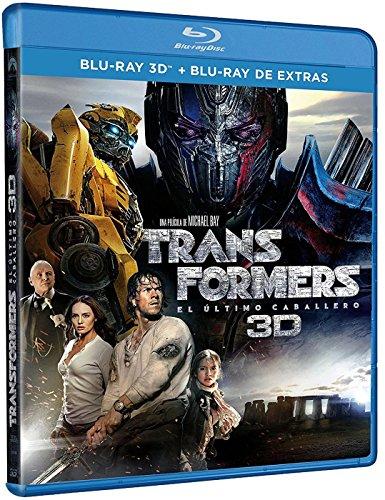 Transformers: El Ultimo Caballero (BD 3D + BD Extras) [Blu-ray]