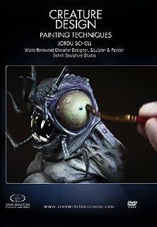 Creature Design- Maquette Painting Techniques