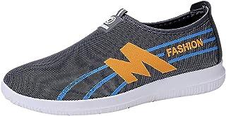 JODIER Zapatos para hombre para correr al aire libre Zapatos de ocio deportivos transpirables Botas de Montaña Zapatillas de Senderismo Impermeable Antideslizante de Trekking Sneakers de Gimnasia