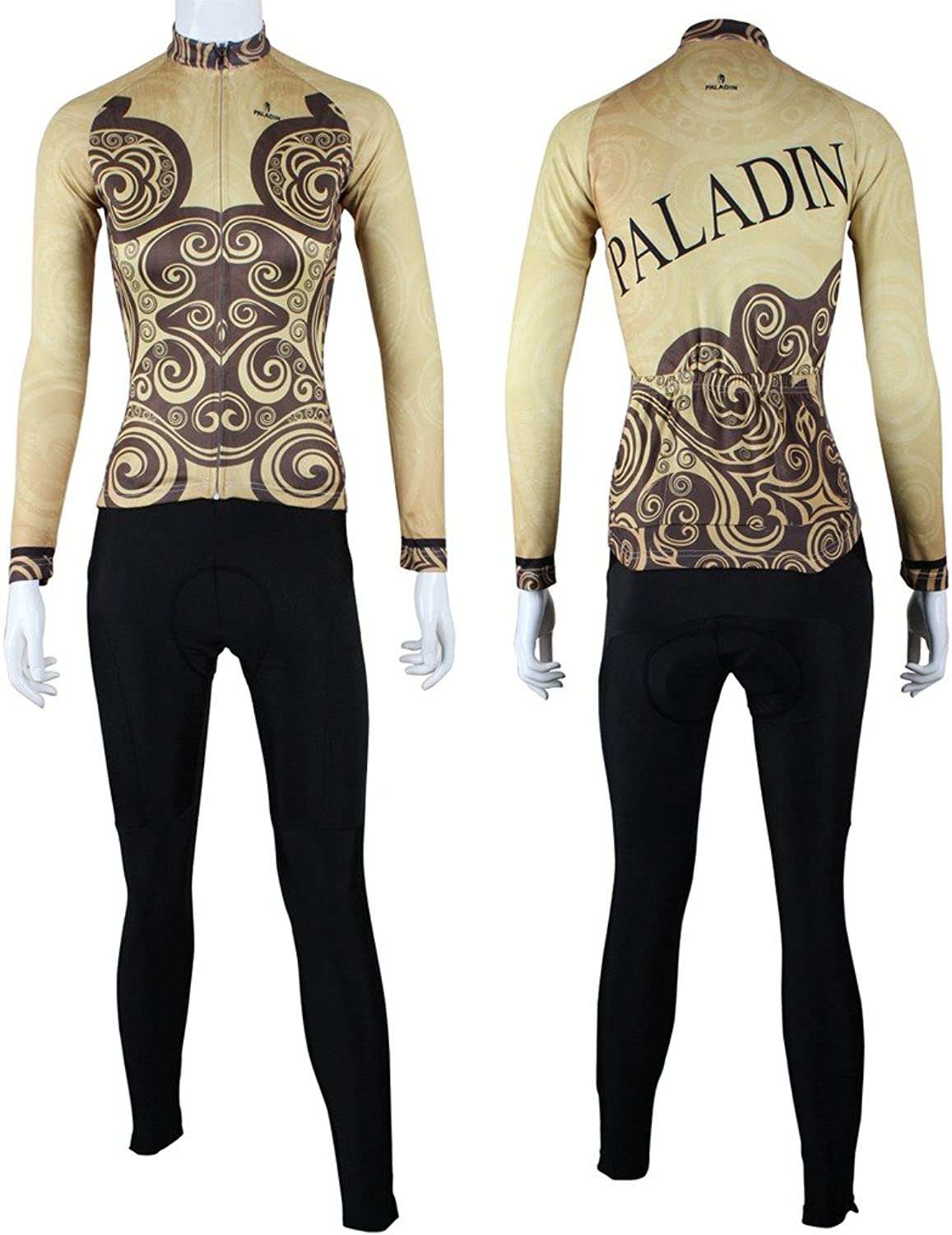 PaladinSport Symmetrical Pattern Women's Long Sleeve Bike Clothing