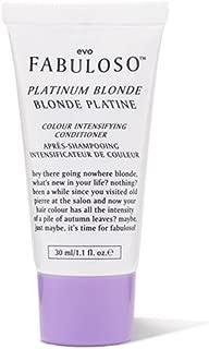 Evo Fabuloso Colour Conditioner Platinum Blonde 1.1 Fl. oz Travel Size