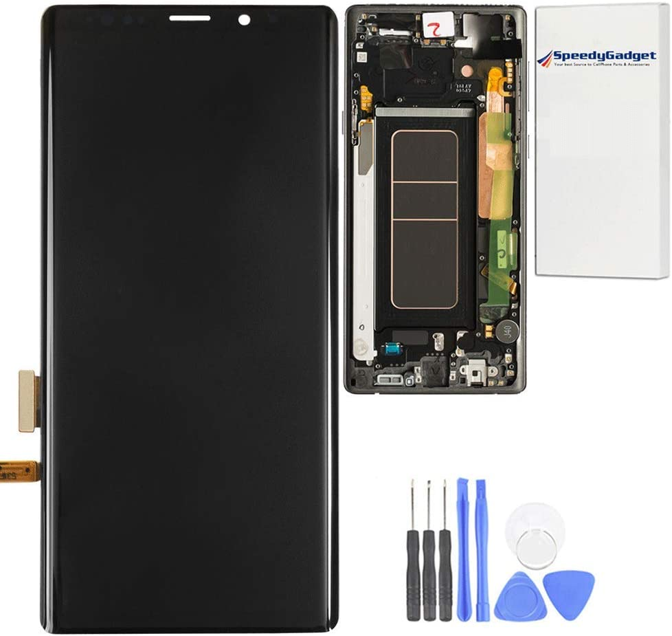 Black Frame AMOLED Screen Display Spasm Rare price LCD Digitizer Replacem Touch