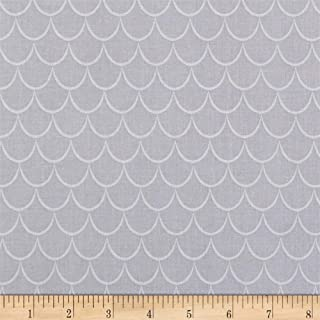 Riley Blake Designs Dragons Scales Fabric, Gray, Fabric By The Yard