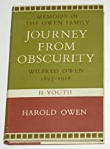 Journey from obscurity: Wilfred Owen. Part 1-childhood