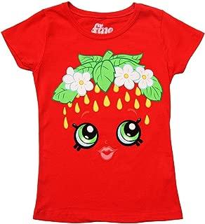Shopkins I Am Strawberry Kiss Youth Girls Red T-Shirt