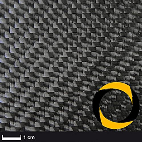 Ascending Composites Kohlegewebe 600 g m2    100cm  , Rolle 2 m