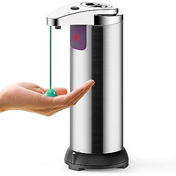 Soap Dispenser con Sensor Autom/ático Recargable Tecnol/ógico Evita el Contacto Antivirus Calma Dragon Dispensador autom/ático Desinfectante para Manos Dosificador de Jab/ón