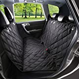 WENFENG Pet Seat Cover, Waterproof & Scratch Proof Dog Car Seat Covers, Hammock...