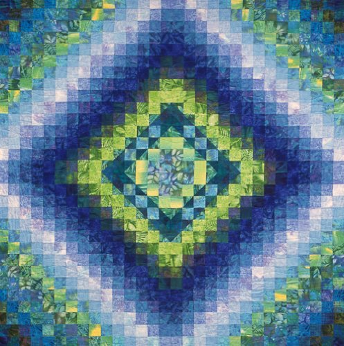 Joen Wolfrom Reflections on The Pond Quilt Pattern
