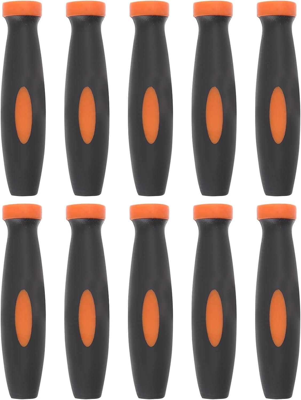 TEHAUX 10Pcs Rubber File Handles- Department store Handles Bombing new work Need Anti Slip