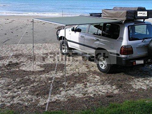Prime Tech Fahrzeug-Markise 250x200x210cm grün auch für Dachzelte