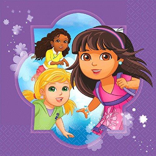 Amscan Dora and Friends Serviettes de table