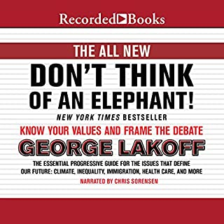 The All New Don't Think of an Elephant! audiobook cover art