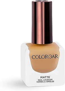 Colorbar Matte Nail Lacquer, Mustard Crop, 12 ml
