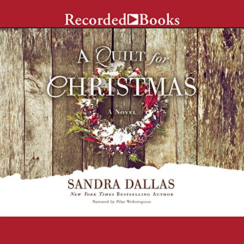 A Quilt for Christmas audiobook cover art