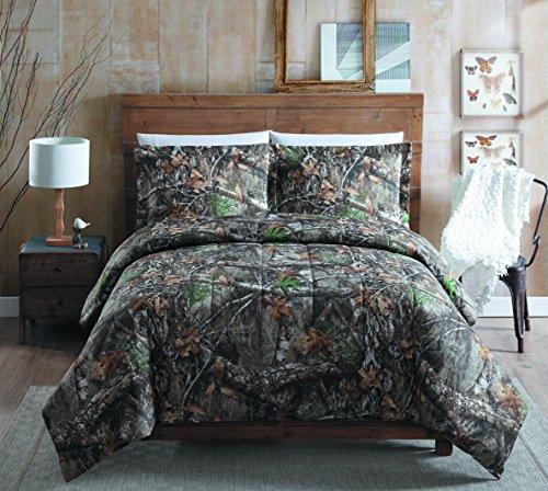 Realtree Edge Queen Comforter Set, Tan